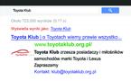 Toyota Klub wizytówka
